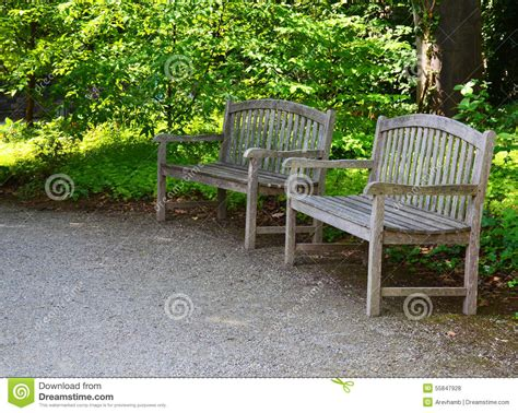 a bench in the park bench in the park stock photo image 55847928