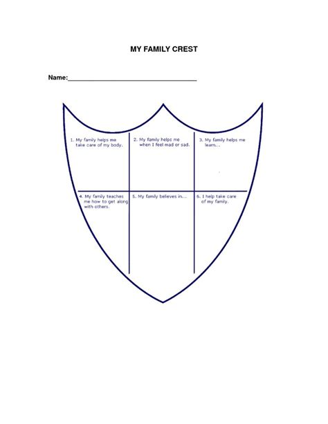 Coat Template by Family Crest Coat Arms Templates Windows