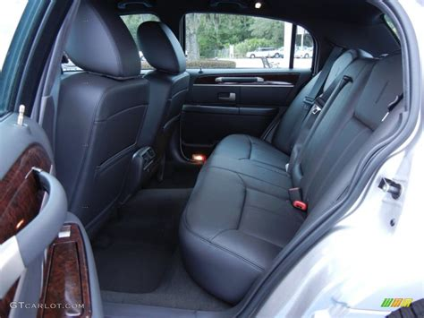 Black Car Interior by Black Interior 2011 Lincoln Town Car Signature Limited