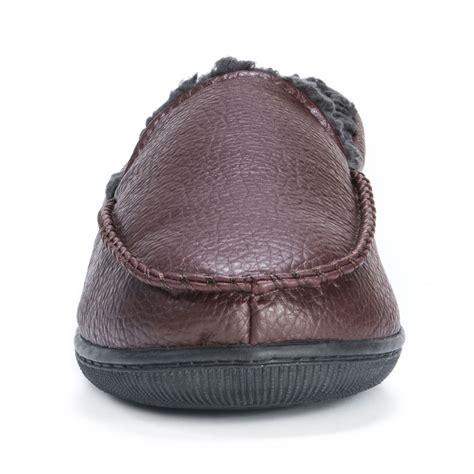 mens muk luk slippers muk luks moccasin s slipper ebay