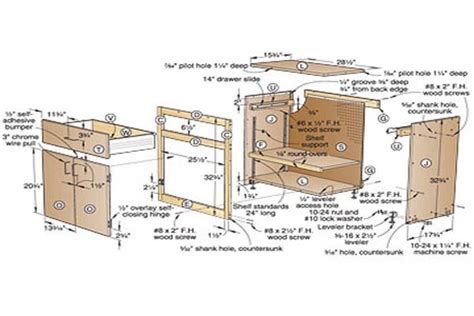 plans to build building plans garage cabinets diy pdf