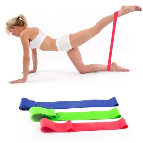 Resistance Band Pilates Exercise Stretch Fitness B Limited the world s catalog of ideas