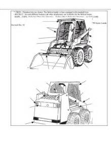 bobcat 753 service repair manual pdf