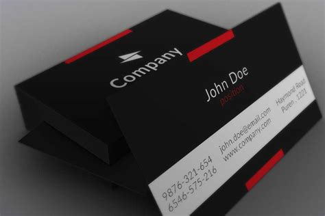 name card template photoshop best sles templates