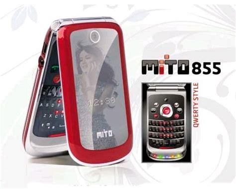 Mito 333 Flip Phone Murah hp mito 855 lipat dengan dua sim card