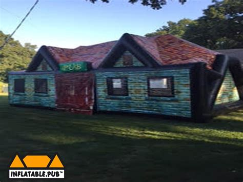 pop up house usa exterior inflatable pub