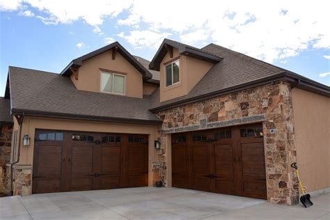 Steel Carriage House Garage Doors Steel Carriage House Garage Doors Steel Carriage House Garage Doors Modern Garage And Shed