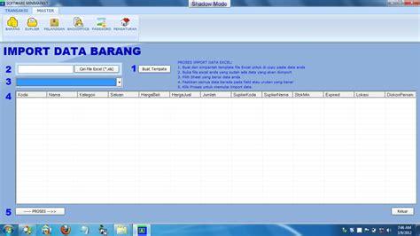 Aplikasi Kasir Software Minimarket Toko Retail software toko gratis software minimarket