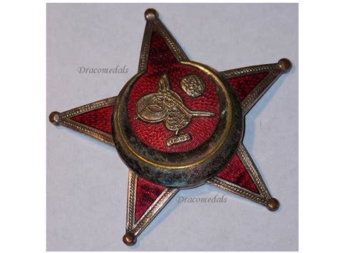 ottoman medals turkey ww1 gallipoli star 1915 military medal badge