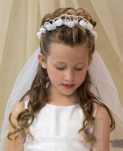 communion hairstyles buns christian expressions stocks a variety of first communion