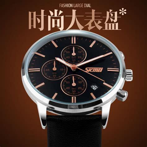 High Quality Exclusive Jam Tangan Cowok Superdry Leather Brown Bl skmei jam tangan analog pria 9103cl black white jakartanotebook