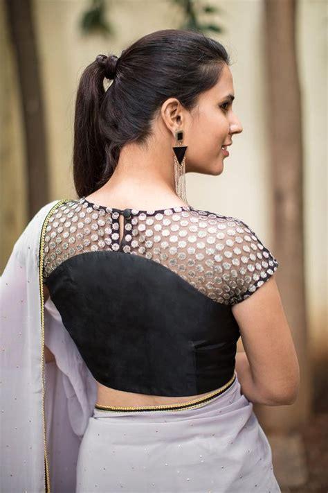 short hair blouse models net blouse designs latest blouse designs with net back