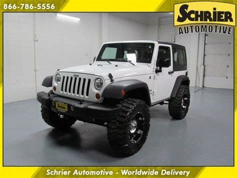 Best Tires For Jeep Wrangler Sport Find Used 2011 Jeep Wrangler Sport White 4x4 3