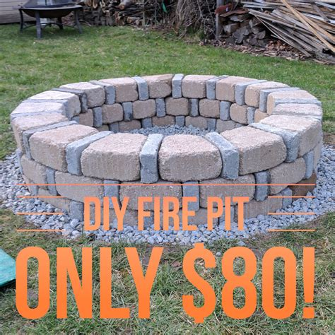 Firepit Sales Easy Diy Pit For Only 80 From Menards Diy Diy Pit Easy And Backyard