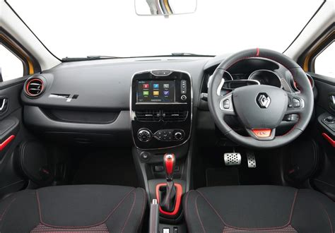renault clio sport interior renault clio 200 turbo edc uk car of the year awards
