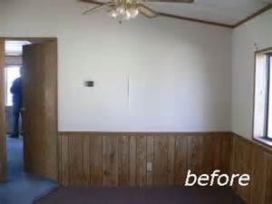 half wall wood paneling painted half wall paneling p wall decal