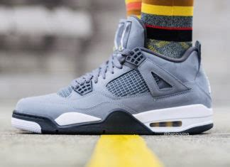 Air 4 Retro Cool Grey 2019 by Sneaker Bar Detroit Sbd Sneaker News Release Info