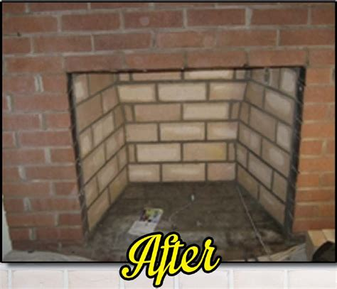 Fireplace Repair Cement by Firebox Rebuilding Dr Sweep Inc