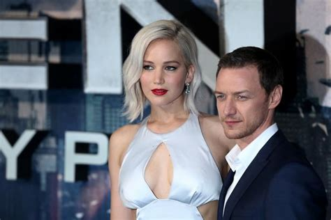james mcavoy jennifer lawrence movie jennifer lawrence takes another tumble on the red carpet