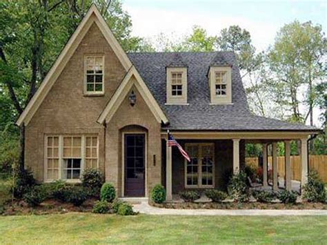 Cottage Plan | country cottage house plans with porches small country