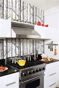 kitchen backsplash wallpaper ideas wallpaper kitchen backsplash contemporary kitchen