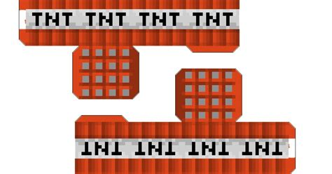 minecraft tnt block template paper craft new 721 papercraft minecraft tnt