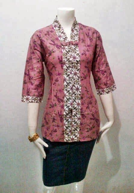 Blus Batik Modern 17 best images about batik on models jackets and casual