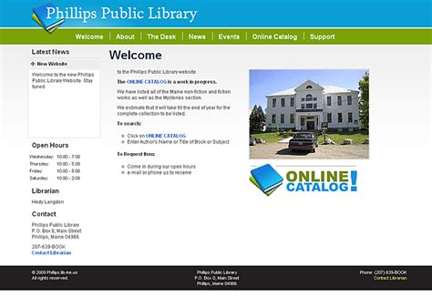 phd portfolio phillips library library