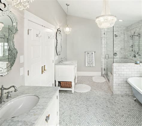 be inspired with this amazing bathroom pattern floors