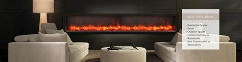 bi 88 electric fireplace indoor outdoor fireplaces unlimited