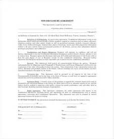 Basic Non Disclosure Agreement Template 9 Personal Confidentiality Agreement Templates Free