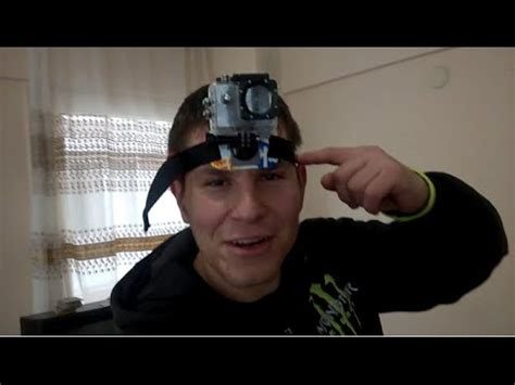 aksiyon kamera icin kafa bandi yapimi ve denemesi youtube