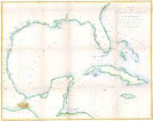 file 1852 map of florida cuba and the gulf of
