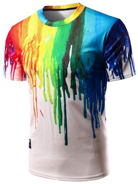 Sweater Hoodie Keren Paintings Print Custom Design s casual pullover colorful painting t shirt in colorful sammydress
