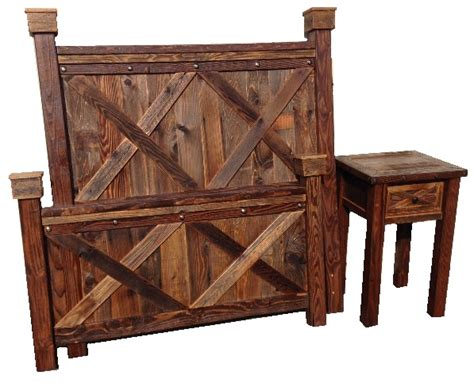 barnwood bedroom furniture bradley s furniture etc rustic barndoor barnwood collection