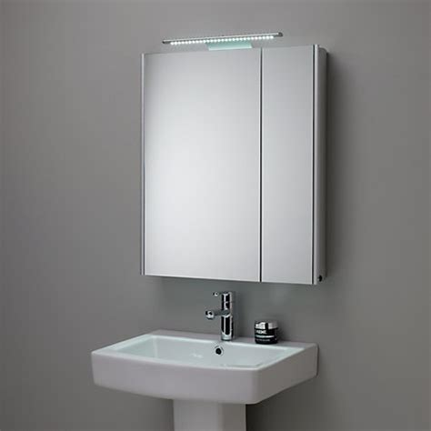 illuminated bathroom mirror cabinets uk buy roper rhodes refine illuminated double mirrored