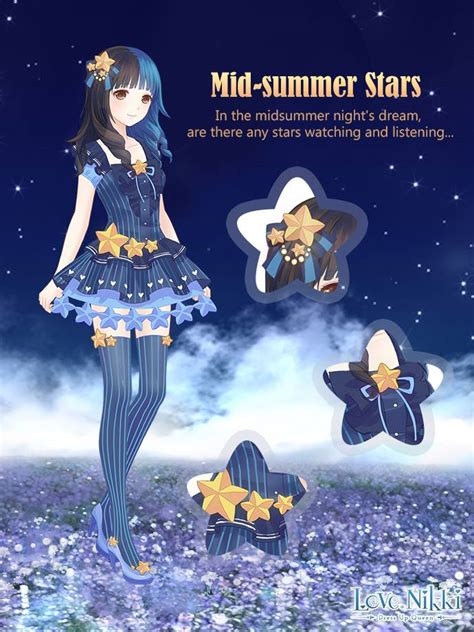 mid summer stars love nikki dress  queen wiki fandom