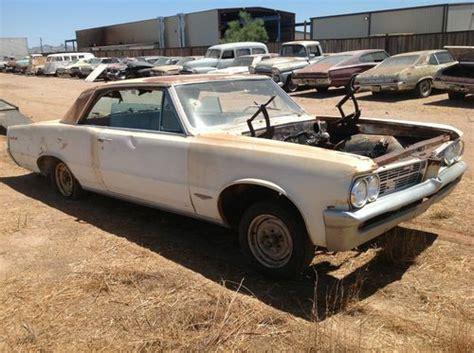 how cars engines work 1964 pontiac gto user handbook buy used 1964 pontiac gto in gilbert arizona united states