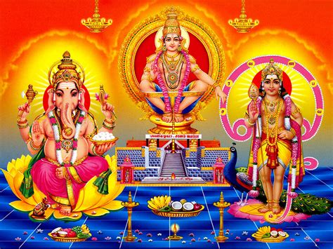 3d god themes download lord ayyappa ganesha lord ayyappa latest desktop