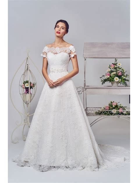 Phoenix Gowns Ivory Lace Wedding Gown Ivory W711