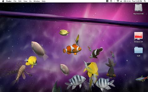 live desktop wallpaper for mac free desktop aquarium 3d live wallpaper screensaver on the