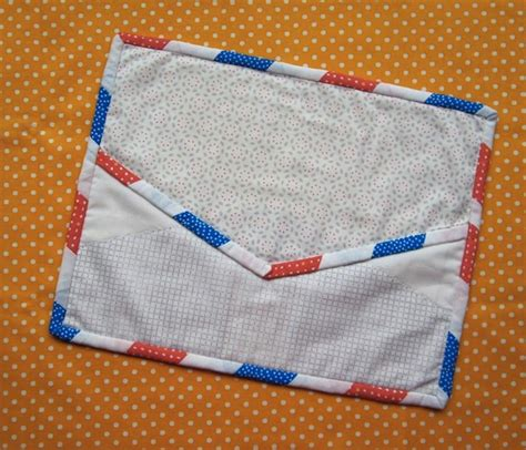 Quilted Mug Rug Patterns by Free Quilted Mug Rug Patterns