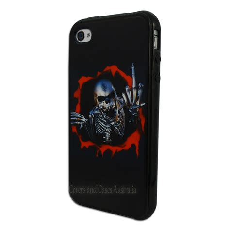 Hardcase Nilkin Iphone 4 4g 4s Back Cover Frosted Shield 1 black skeleton printed back for apple iphone 4s 4 horror cover 4g ebay
