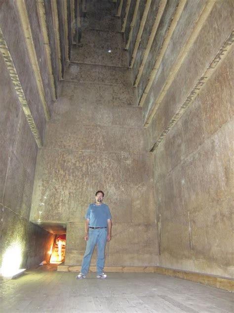 great pyramid  giza interior