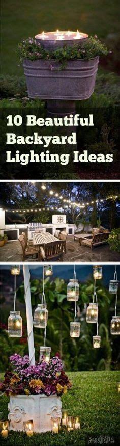 diy backyard lighting hang lights on your fence diy