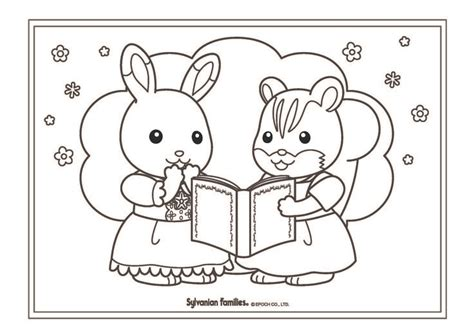 51 Best Calico Critters Coloring Pages Images On Pinterest Calico Critters Coloring Pages