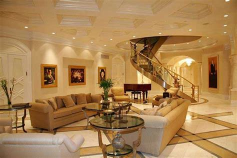 Cozy Luxurious Living Room Decor Home Interior Design | awesome luxurious penthouse design in canada apartmen