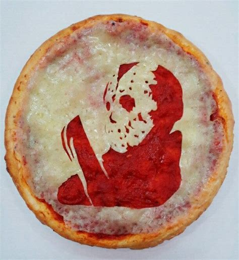 Scary Pizza 10 scary pizza portraits how2becool