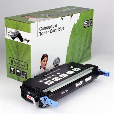 Toner Q6470a dakota ink and toner 187 hp compatible black toner q6470a