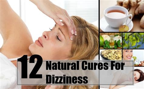12 cures for dizziness how to cure dizziness